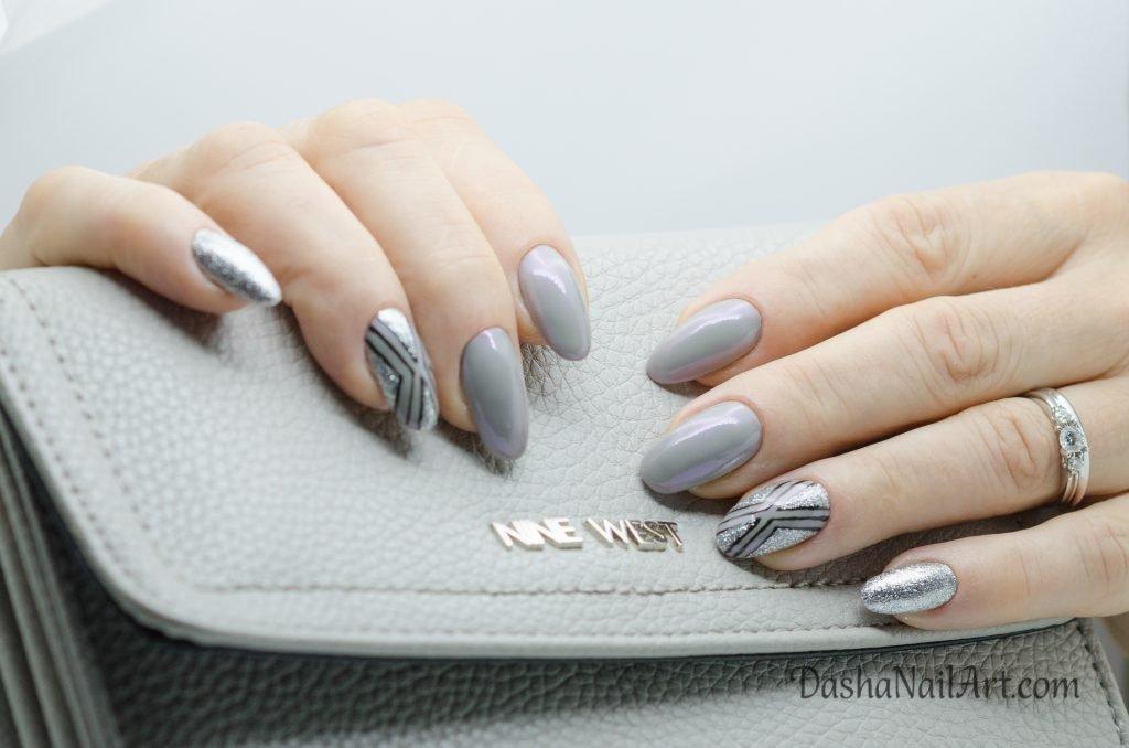 Elite chrome oval nails
