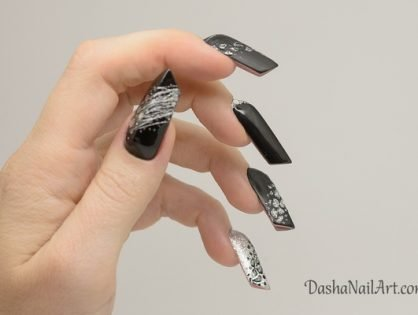The EDGE nails in black.