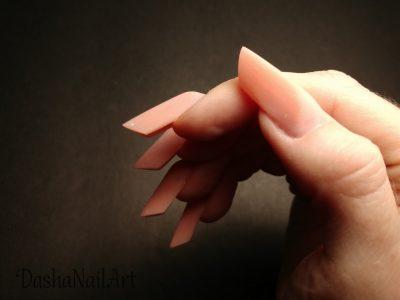 Edge nails hard gel extension