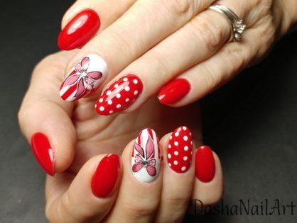 Royal red nails