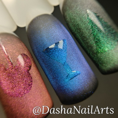 Best Christmas & New Year nail designs - 2