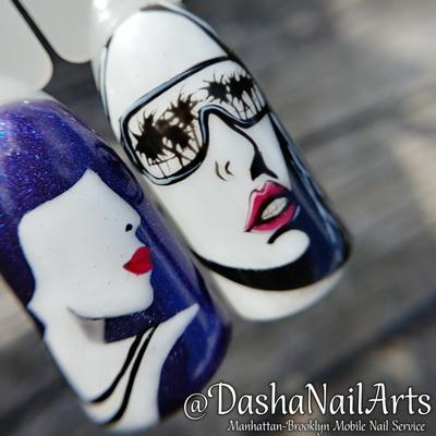 Face & portrait nails
