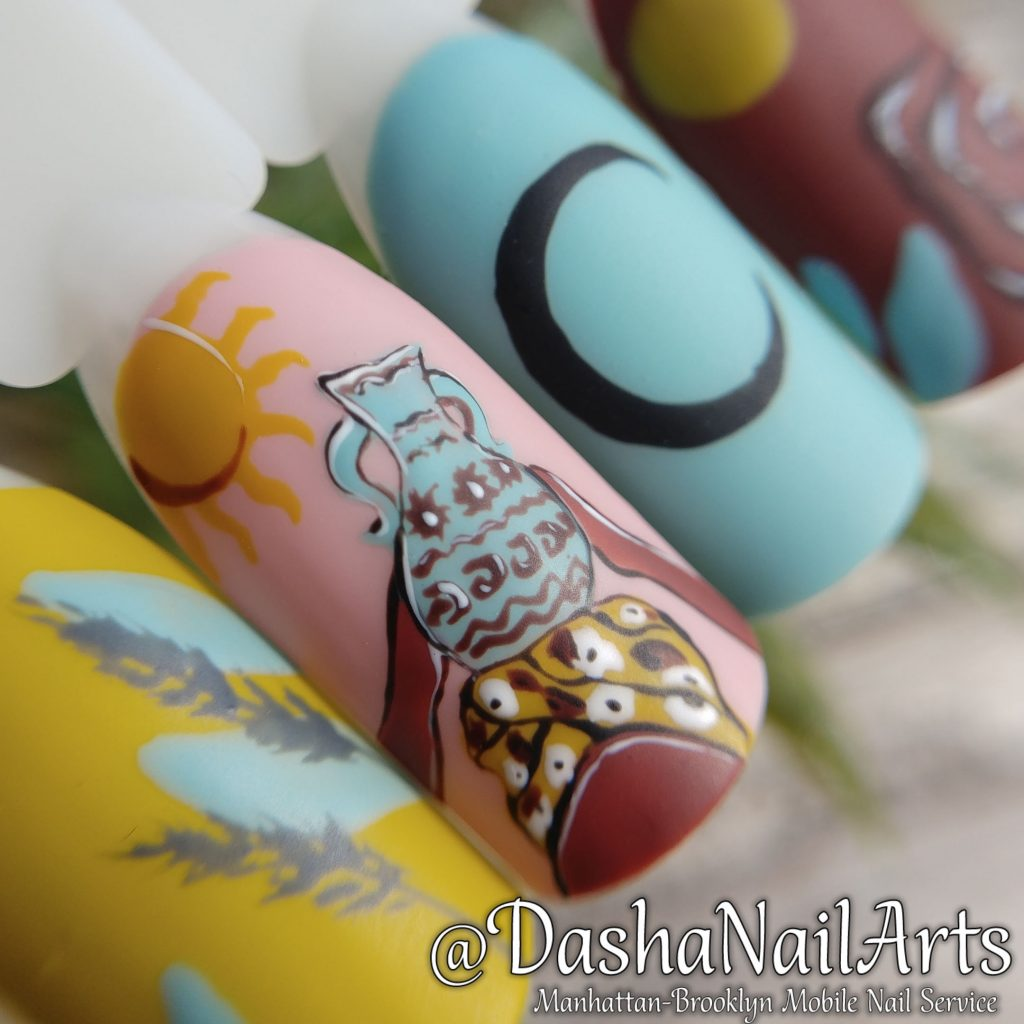 African style nails