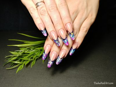 Aquarium nails