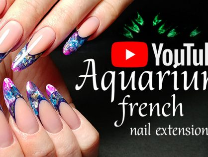 TUTORIAL how to create a Modern Almond Gel Nail extension step by step